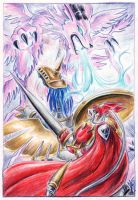 Saint George and the Dragon by Sysirauta