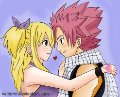 FT Natsu and Lucy 1 by Valeorie