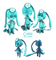 Cress 3D model by SpaceSmilodon