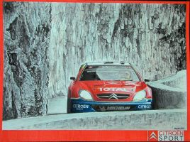 Citroen Xara WRC '04 by machoart