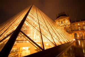 Paris by night :  Louvre II by SaTaNiA