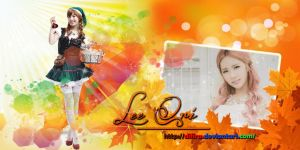 Lee Qri Wallpaper by Difira