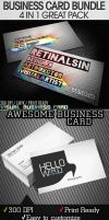 GREAT BUSINESS CARDS BUNDLE by retinathemes