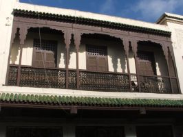 Moraccan Balcony by Magdyas
