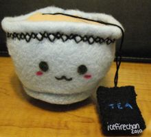 Tea Cup Plush by icefirechan