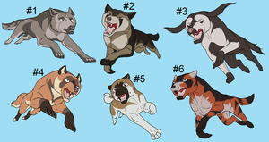 Ginga Adoptables 02 - CLOSED by Hermannmagdich