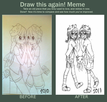 Draw This Again Meme by chiihime-chan