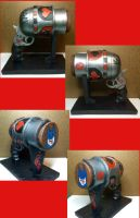 Harley Quinn Gun (post weathering) by lucious666