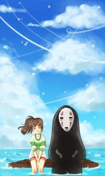 Spirited Away by KnockMeOut