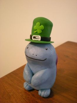 Quagsire St Patrick's day by Foureyedalien