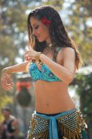 Beautiful Belly dancer by siobhanleigh