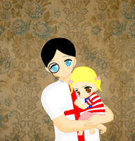 SATW daddy's little girl by ABtheButterfly
