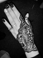 Henna Tattoo 2 by RiotFreak