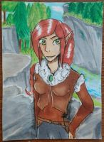 Mirime / ACEO TRADE by GingerAdy