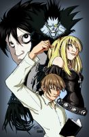 Death Note by KidNotorious by VPizarro626