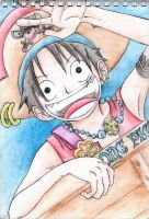 Just Luffy by Kimoto-chan