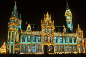 Light Festival Ghent by GordonBeer