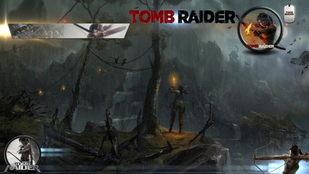 Theme for Xbox one |Tomb Raider by msk11