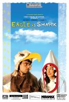 Eagle Vs Shark by Miss--Dee