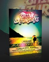 Shiny Saturdays Flyer -PSD- by retinathemes