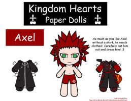 Axel Paper Doll by Malindachan