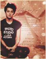 Sehun edit by ChannieBaconette