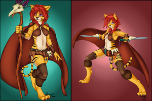 :COM: Sera the Tigress by Pikuna