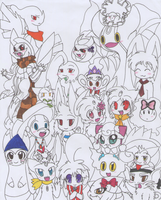 So many Characters~ by SapphireMiuJewel