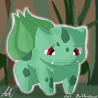 001 Bulbasaur by Balleman