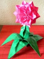 kusudama flower 2 by Floorin333