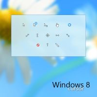 Original Windows 8 Cursors by AgentTechno