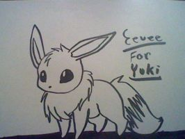 Eevee by TheFluffyFoxeh