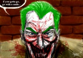 speed paint joker by dkstelo