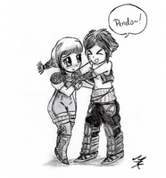 Vaan and Penelo by Shell19