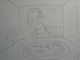 Burnt Pizza by EricGroff