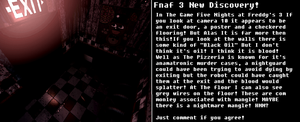 Fnaf 3 Disscovery! by GFcrazy