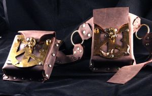 Brass-Fronted Utility Belt by TormentedArtifacts