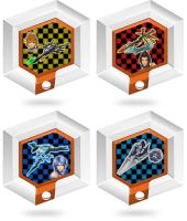 Disney Infinity :Kingdom Hearts Gliders: by Xelku9