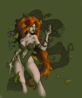 Poison Ivy colours unfinished by charkxl