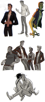 greaser au by smokeplanet