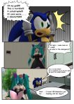 Sonic and Miku 2 by MRSaeba-San