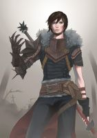 Dragon Age 2 - Hawke by kaariXD