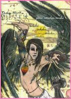 japanese angel Davey by Anarchpeace