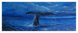 Great Whales by Krystalvoyager