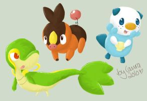 BW Starters by lowlaury