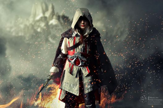 assassin's creed girl by Stetsenko