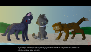 Confronting The Problem by nikkithedog3