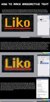 glowing text in Imageready by Captain-Nintendork