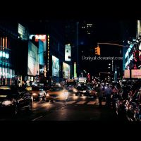 New York - City lights by DarkSaiF