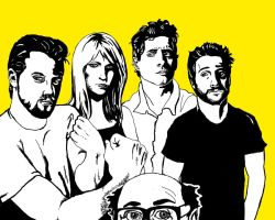 The Gang - It's Always Sunny by K1D6R4Y